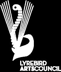 Lyrebird Arts Council Logo